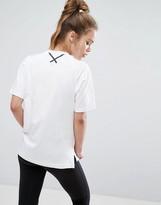 adidas Xbyo White Boxy T-Shirt