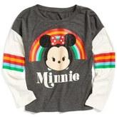 Mighty Fine Mini Tsum Tsum Tee (Toddler Girls, Little Girls & Big Girls)