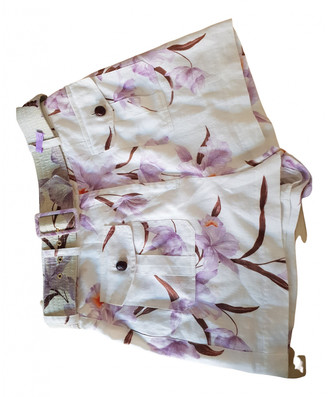 Zimmermann Purple Cloth Shorts