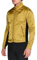 Tomas Maier Lightweight Nylon Full-Zip Jacket, Brass