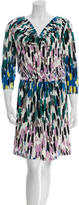 Tibi Patterned Knit Dress