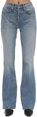 RE/DONE High Break Flared Cotton Denim Jeans