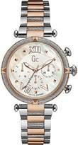 Gc Women's Cablechic 38mm Two Tone Steel Bracelet Quartz Watch Y16002l1