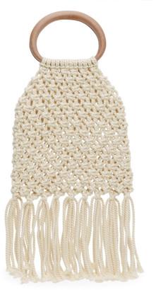 Nanushka Off-White Rope Top Handle Bag