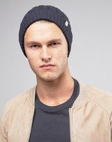 Selected Beanie in Cable Knit