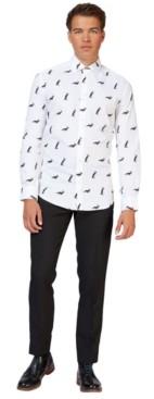 OppoSuits Men's Christmas Penguins Christmas Shirt