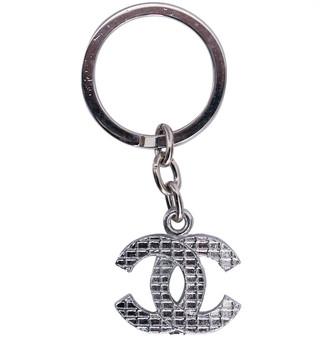 Chanel CC Silver Metal Bag charms