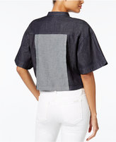 GUESS Cropped Boxy Shirt