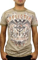 Affliction Condemned Short Sleeve T-Shirt M Mud