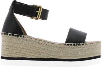 See by Chloe Ankle Strap Platform Sandals