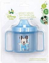 Disney One Baby Mickey, Mini, or Pluto Twin Handle Sippy Cup - Color May Vary, Contact Seller for Boy or Girl Colors