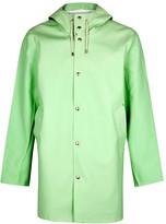 Stutterheim Stockholm Mint Rubberised Raincoat