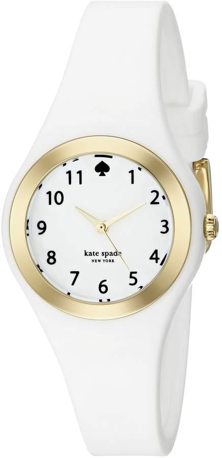 Kate Spade Women's Rumsey 1YRU0793 Rubber Quartz Watch