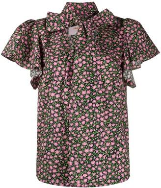 La DoubleJ Lou Lou floral print shirt