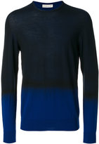 Etro two tone sweater - men - Wool - M