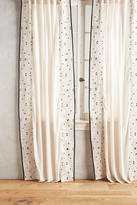 Anthropologie Sketched Edges Curtain
