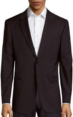 Giorgio Armani Long-Sleeve Wool Blazer