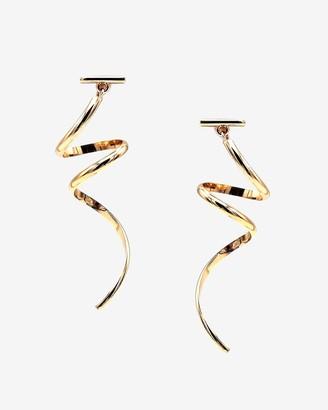Express Tuleste Spiral Earrings