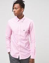 Selected Oxford Pink Check Shirt
