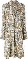 Raquel Allegra leopard print coat - women - Silk - 3