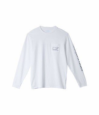 Vineyard Vines Men's Long-Sleeve Whale Pocket T-Shirt