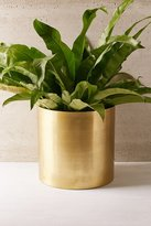 "Urban Outfitters Mod Metal 14"" Planter"