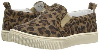 Freshly Picked Classic Slip-On (Toddler/Little Kid) (Leopard Print) Kid's Shoes