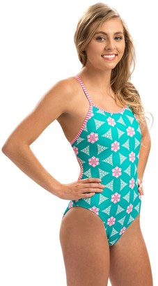 Dolfin Uglies Holiday Sugar Plumz String-Back 1-Piece Swimsuit