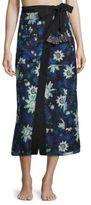 Proenza Schouler Jungle Print Cover-Up Skirt