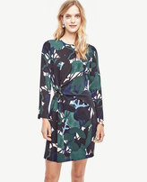 Ann Taylor Tall Cypress Botanical Shift Dress