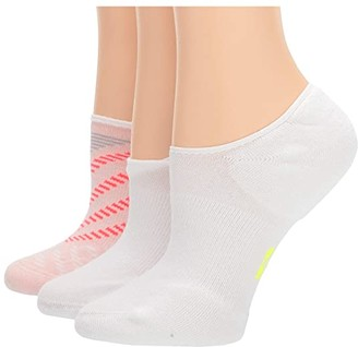 Hue Low Cut Liner with Cushion 3-Pair Pack (Light Pink) Women's No Show Socks Shoes