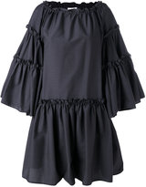 MSGM oversized ruffle dress