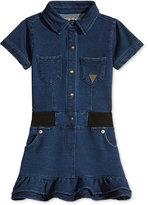 GUESS GUESS' Denim-Look Dress, Little Girls (2-6X)