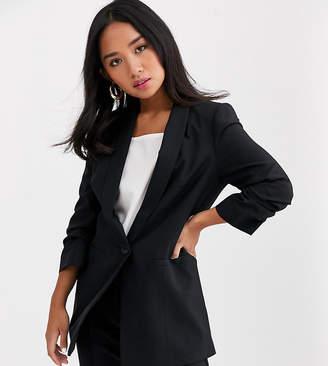 Asos DESIGN Petite mix & match blazer-Black