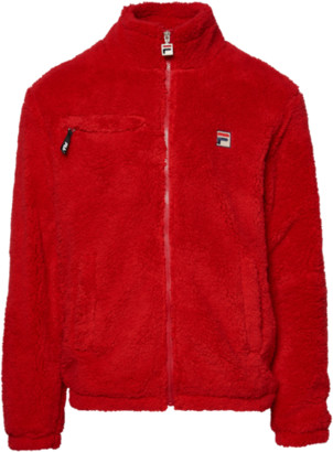 Fila Bridge Water Sherpa Jacket - Chinese Red
