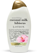 OGX Nourishing Coconut Milk Hibiscus Creamy Body Lotion