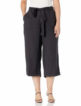 NYDJ Women's Plus Size Cargo Capri Pant