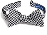 The Tie Bar Gingham Cotton Bow Tie (Online Only)