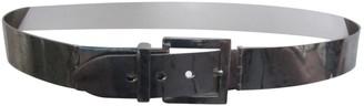 Alexander McQueen Silver Metal Belts