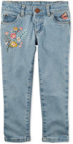 Carter's Embroidered Denim Jeans, Little Girls (2-6X) & Big Girls (7-16)