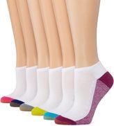 Gold Toe 6pk Mesh Liner Socks
