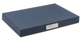 Bigso Box of Sweden Sven Hinged Letter Box, Set of 3