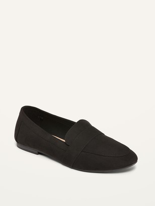 Old Navy Faux-Suede Slip-On Loafer Shoes for Women