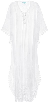 Melissa Odabash Nicki cotton-blend lace kaftan