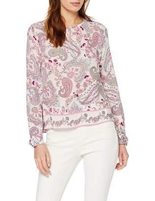 Comma Women's 81.903.11.8944 Blouse, Multicolour Floral Print 01C4, 8 (Size:34)
