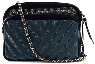 Chanel Pre Owned Chevron applique camega bag