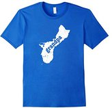 Men's Guam Grandpa Shirt Gift Ideas For Grandpa Guam Home Shirt Large