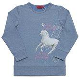 Salt&Pepper SALT AND PEPPER Girl's Sweat Long Horses Sweatshirt