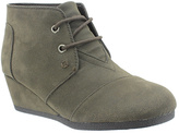 Pierre Dumas Brown Sabri Wedge Ankle Boot - Girls