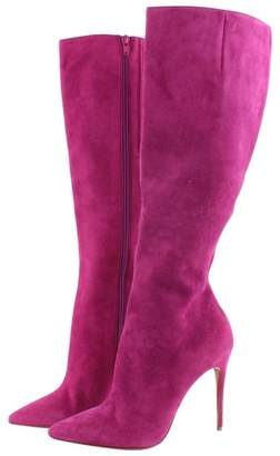 Christian Louboutin \N Purple Leather Boots